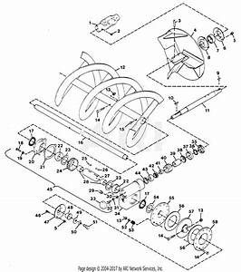 Gravely 48641 32 U0026quot  Snow Blower 2 Wheel Tractor Parts