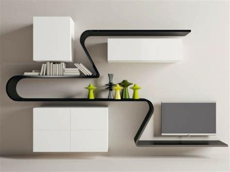moderne wandregale wohnzimmer moderne wandregale