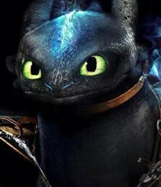 Alpha How to Train Your Dragon Toothless