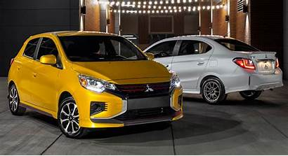 Mirage Mitsubishi 2021 America Carscoops Improvements Facelifted
