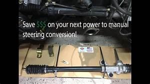 Manual Steering Rack Hack  How To Replace Steering Rack 92