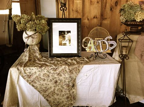 wedding reception entrance barn wedding decorations and ideas this is one portion of our entrance table we used a bird