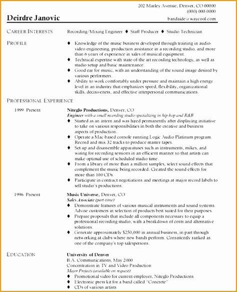 9 aeronautical engineer resume exle free sles