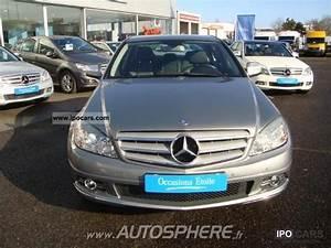 Mercedes Classe C 2009 : 2009 mercedes benz classe c 220 cdi car photo and specs ~ Melissatoandfro.com Idées de Décoration