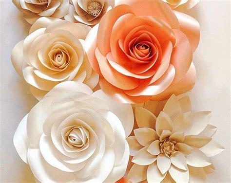 Fiori Giganti Di Carta by Paper Flower Wall Paper Flower Backdrop Wedding Wall