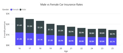 male  female car insurance rates  zebra