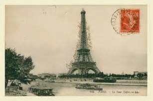 Postcard Vintage Paris France