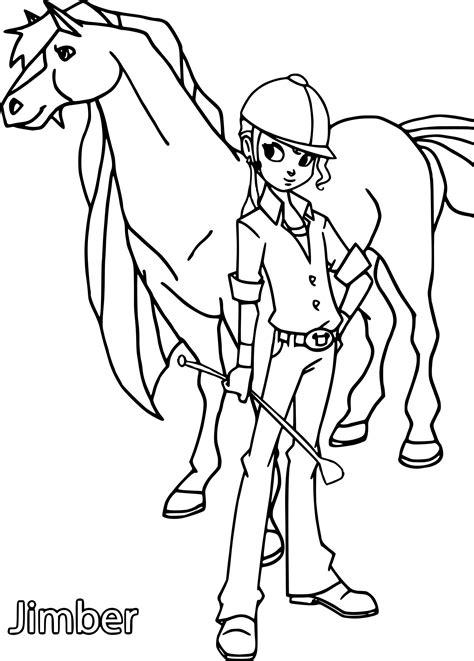 coloriage le ranch jimber  imprimer sur coloriages info