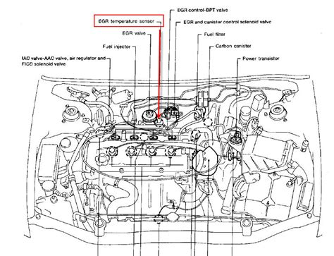 Nissan Altima 2010 Engine Diagram 6 best images of 2001 nissan engine diagram 2003 nissan