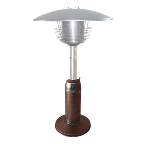 hiland patio heater hiland portable patio heater bronze outdoor living