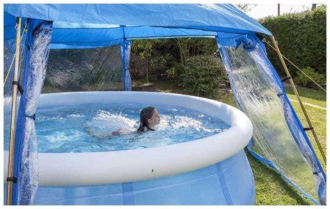 dome pour piscine hors sol 171 l abri de piscine comment