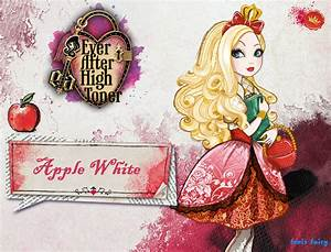 Ever after high Apple White wallpaper by fenixfairy on ...