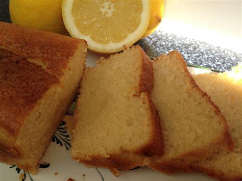 quatre quarts au citron recettes de desserts  de