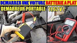 Voiture Demarre Pas : voiture ne demarre pas batterie a plat en panne test demarreur batterie auto portable booster ~ Gottalentnigeria.com Avis de Voitures