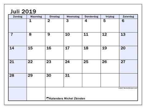 kalenders juli zz michel zbinden nl