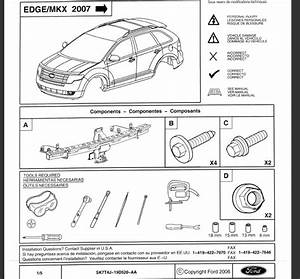 I Have A 2009 Ford Edge Sel Fwd  I Want To Install A