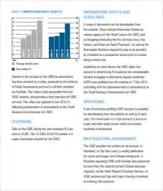 Free Non Profit Annual Report Template by Sle Annual Report 9 Documents In Pdf