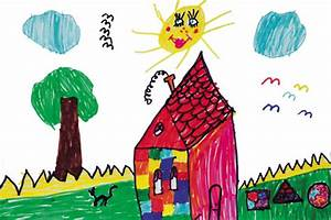 Decorating with children's art - Fayette Woman