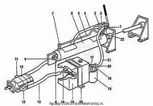 Troy Bilt 12576 Pto Log Splitter Parts Diagram For