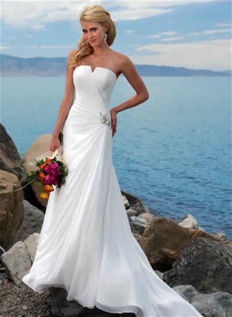 brautkleid strand wedding trend ideas wedding dresses on the