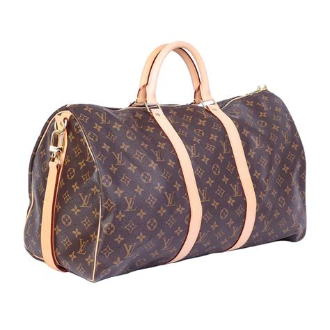louis vuitton monogram keepall bandoulier  luxity