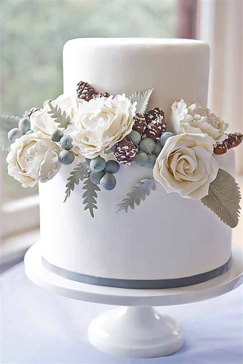 36 Small Wedding Cakes With Big Style Wedding Cakes