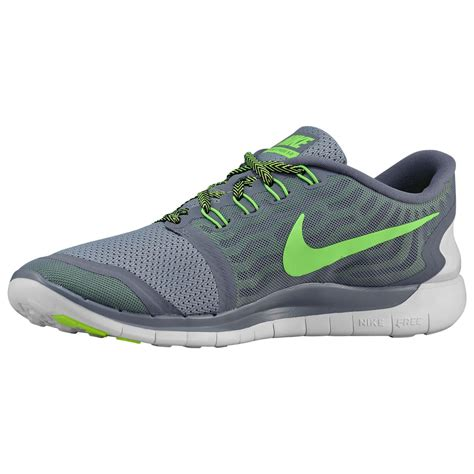 Nike Free Mens Running Trainers Cool Grey Voltage