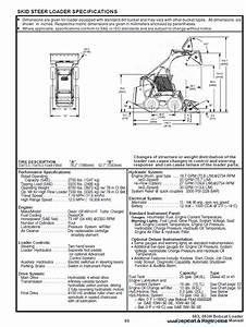 Bobcat 883  U0026 883h Download Operation And Maintenance Manual Pdf