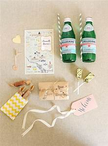 10 thoughtful items for wedding guest welcome baskets With wedding guest gift ideas