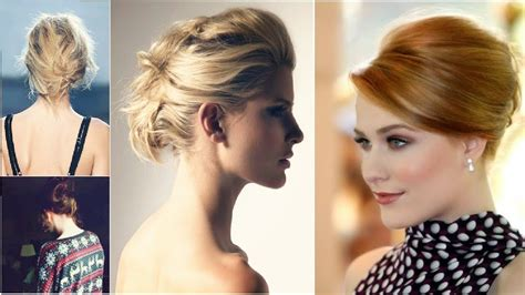 party hairstyles  thin hair youtube