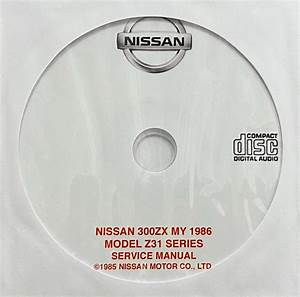 1986 Nissan 300zx Model Z31 Series Usa Workshop Manual