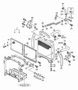 Cooling System Parts For 2810 Mahindra Tractor