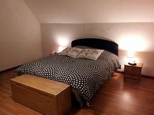 Lit Coffre Ikea : atelier brico 2 t te de lit une cigogne sur le toit ~ Teatrodelosmanantiales.com Idées de Décoration