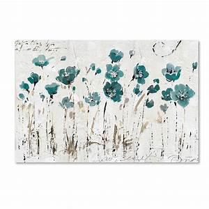All wall art wayfair abstract balance blue by lisa audit for Kitchen cabinets lowes with where to print wall art