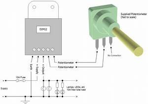 Dim12  Leddimmer  Rotary Potentiometer Controlled   Pwm