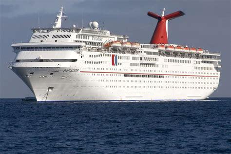 carnival paradise cruise ship sinking 2011 carnival paradise