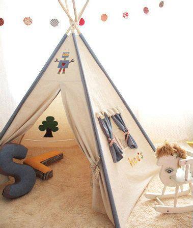 Tipi Kinderzimmer Dekorieren by Soabe Blau Dekoration Teepee Zelt Tipi Indianer Zelt