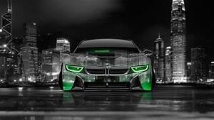 4K BMW i8 Front Crystal City Car 2014 el Tony