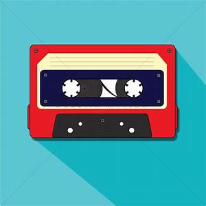A cassette tape Vector Image - 1237110 | StockUnlimited