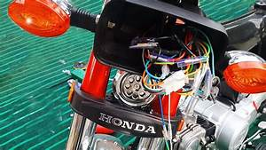 Complete Cd-70 Honda Motorcycle Wiring How To Do It