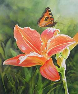 Rose Paintings and Flower Paintings in Watercolor and Oil