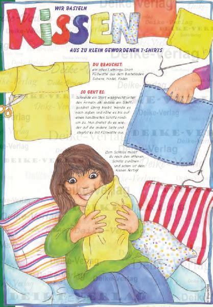 gespenst kostüm aus t shirt basteln basteln kisssen aus t shirts kinder zielgruppe deike verlag wir liefern inhalte