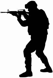 Soldier Silhouette Png Clip Art Image