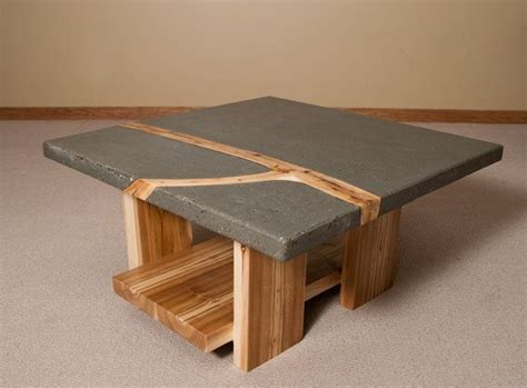 concrete coffee table diy concrete coffee tables elegant modern table for diy