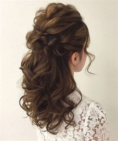 30+ Bridal Victorian Hairstyles Ideas Wedding hair half