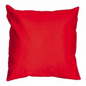 Housse De Coussin Rouge : housse de coussin shantung soiry rouge coussin et housse de coussin eminza ~ Teatrodelosmanantiales.com Idées de Décoration