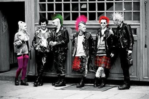 punk fashion  style