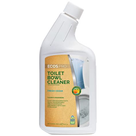 Ajax Professional Bathroom Power Cleaner Msds by Earth Friendly Products Ecos Pro Toilet Bowl Cleaner