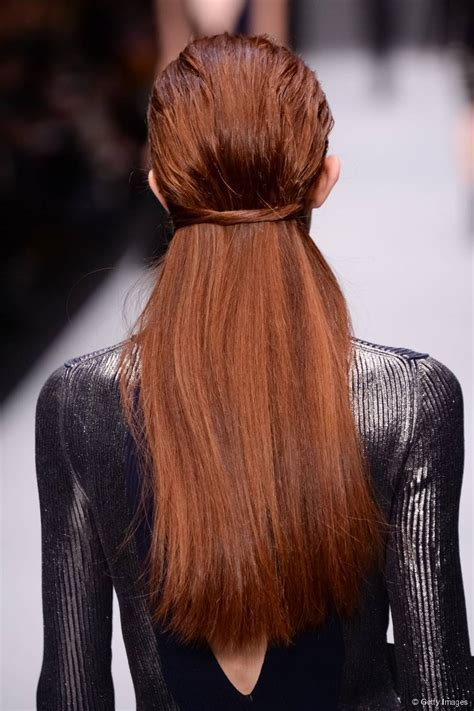 Sleek Wet Look Hairstyle Ideas for 2017   New Haircuts to