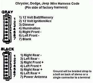 Wiring Diagram Database  2000 Dodge Durango Radio Wiring